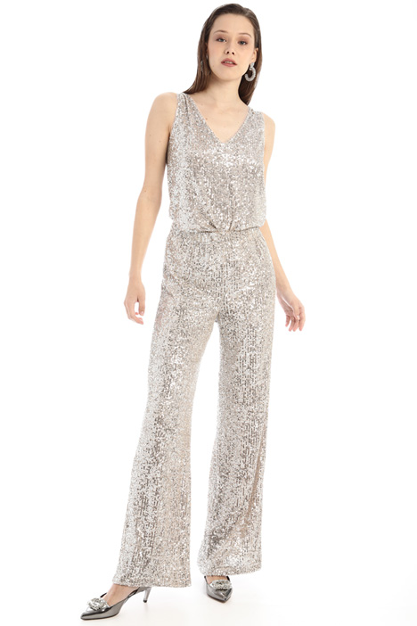 Sequinned trousers Intrend