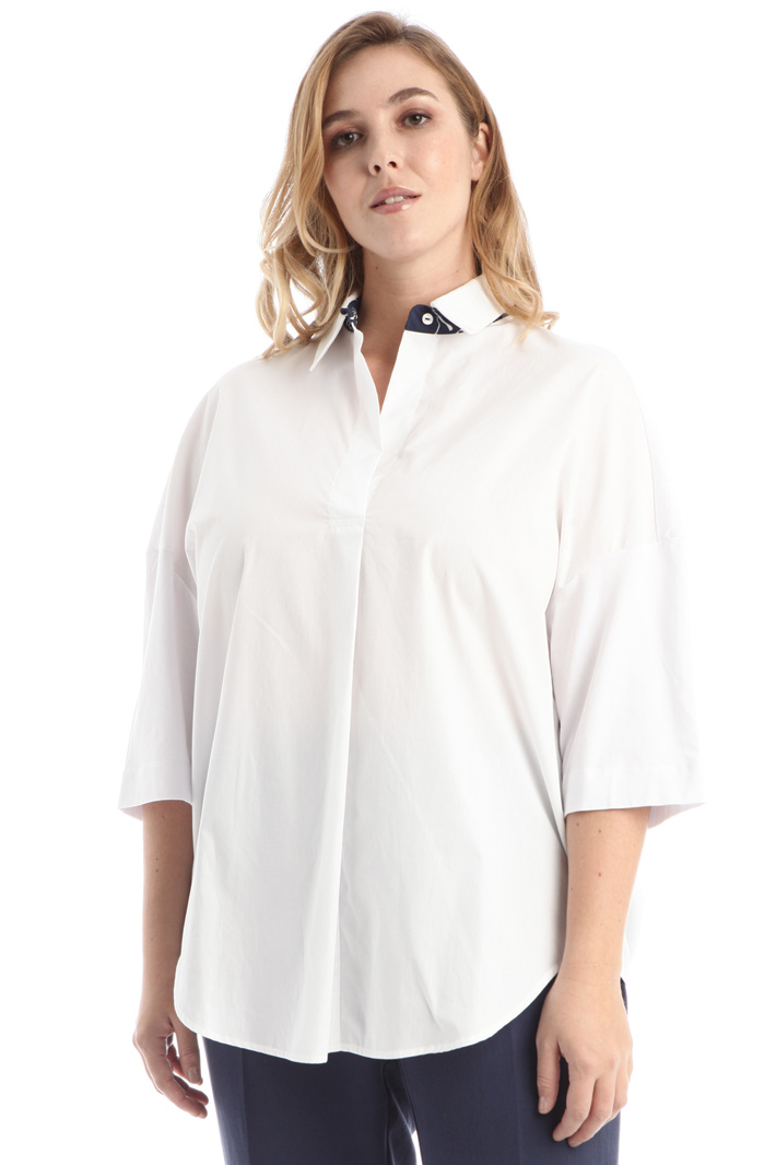 Jersey and cotton shirt Intrend