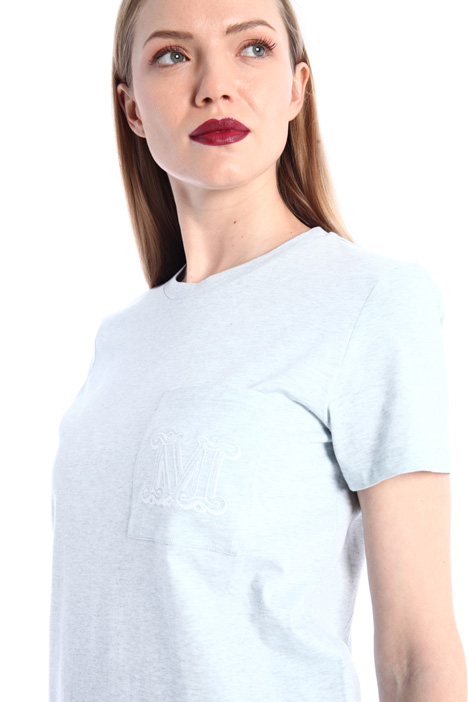 Cotton mélange jersey T-shirt Intrend