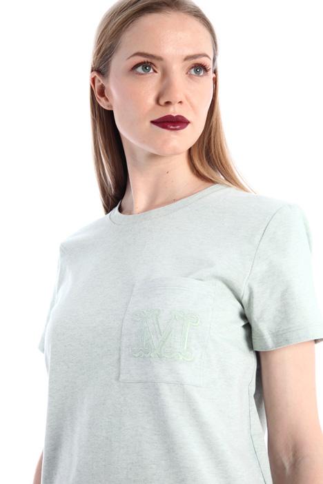 Cotton mélange jersey T-shirt Intrend