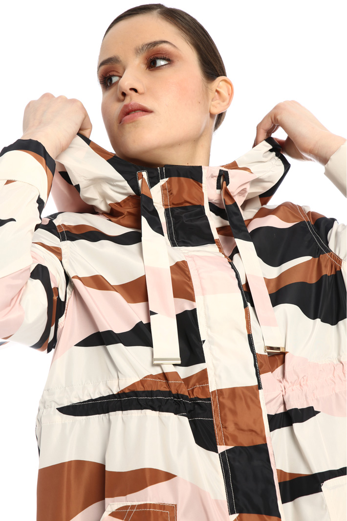 Printed parka Intrend