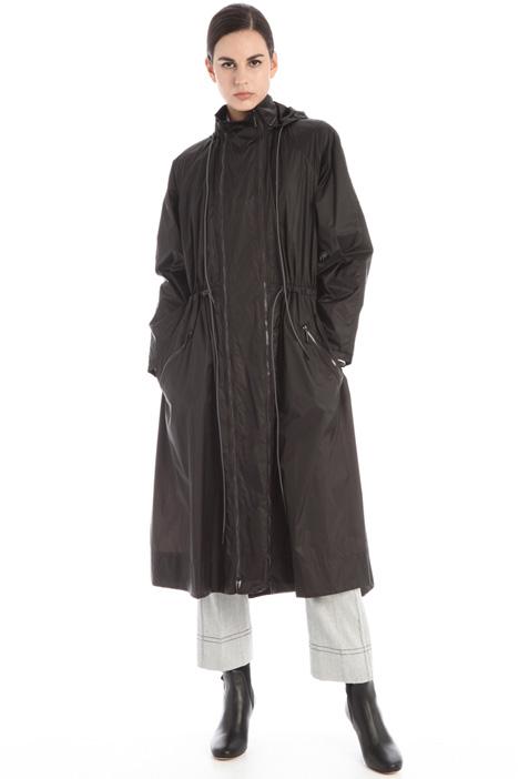 Flared rain coat Intrend