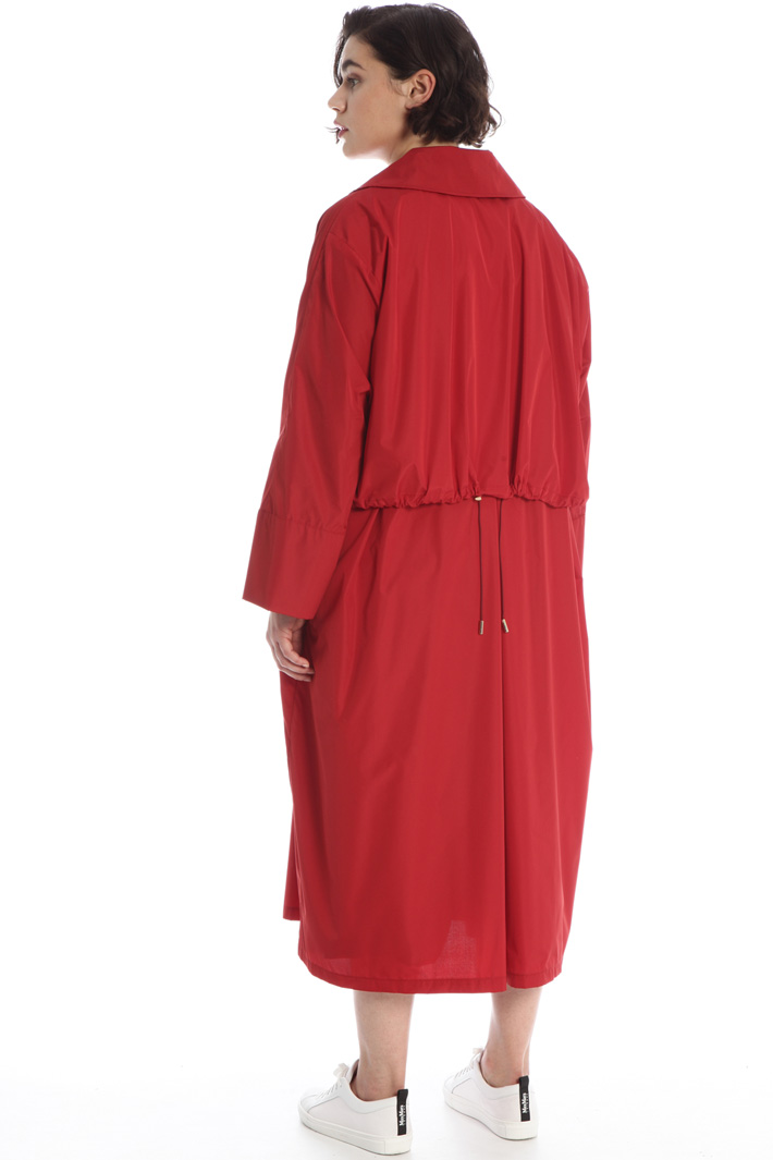 Long taffeta raincoat Intrend