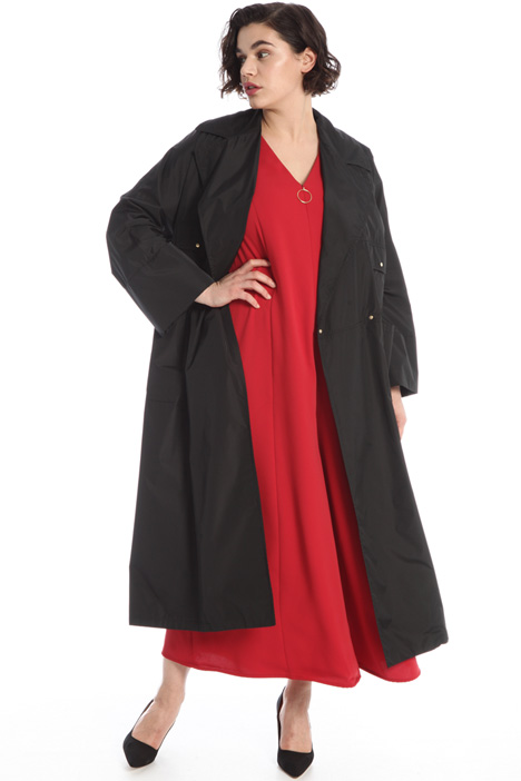 Long taffeta raincoat Intrend