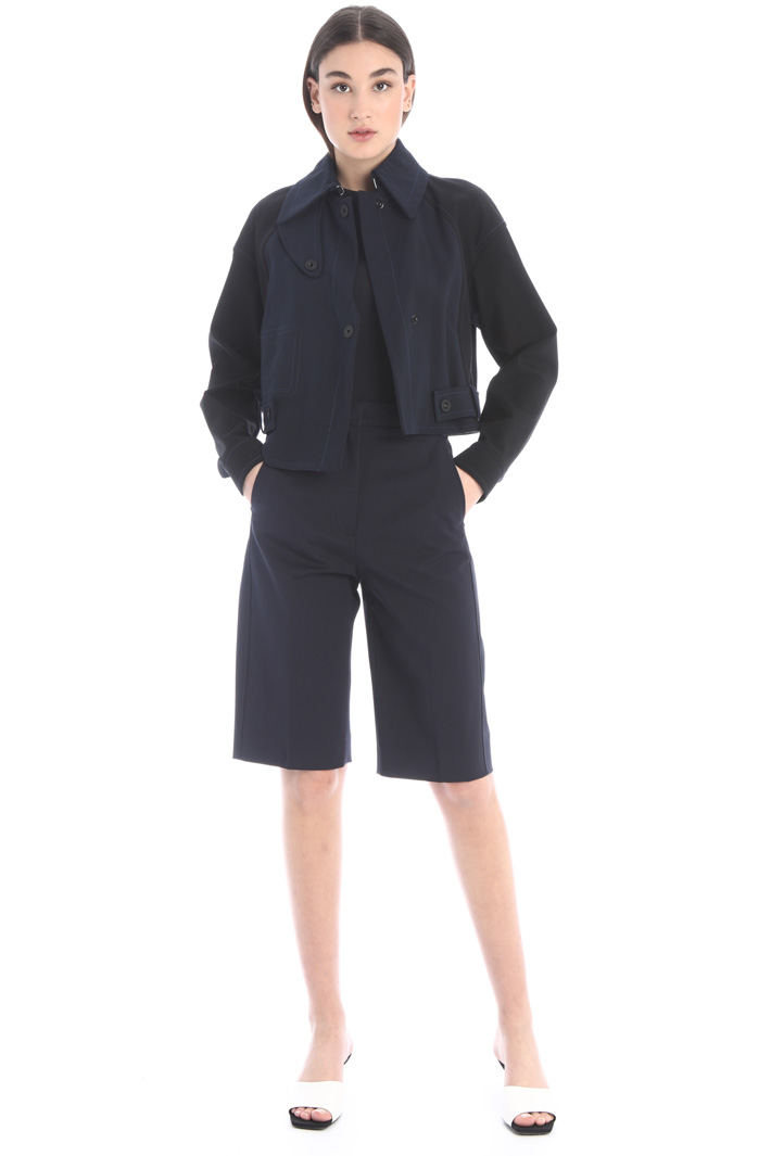 Double cotton  jacket Intrend