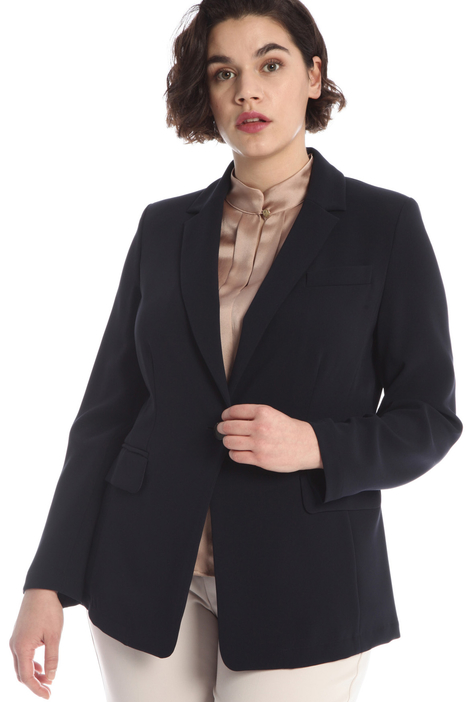 Slim fit cady blazer Intrend