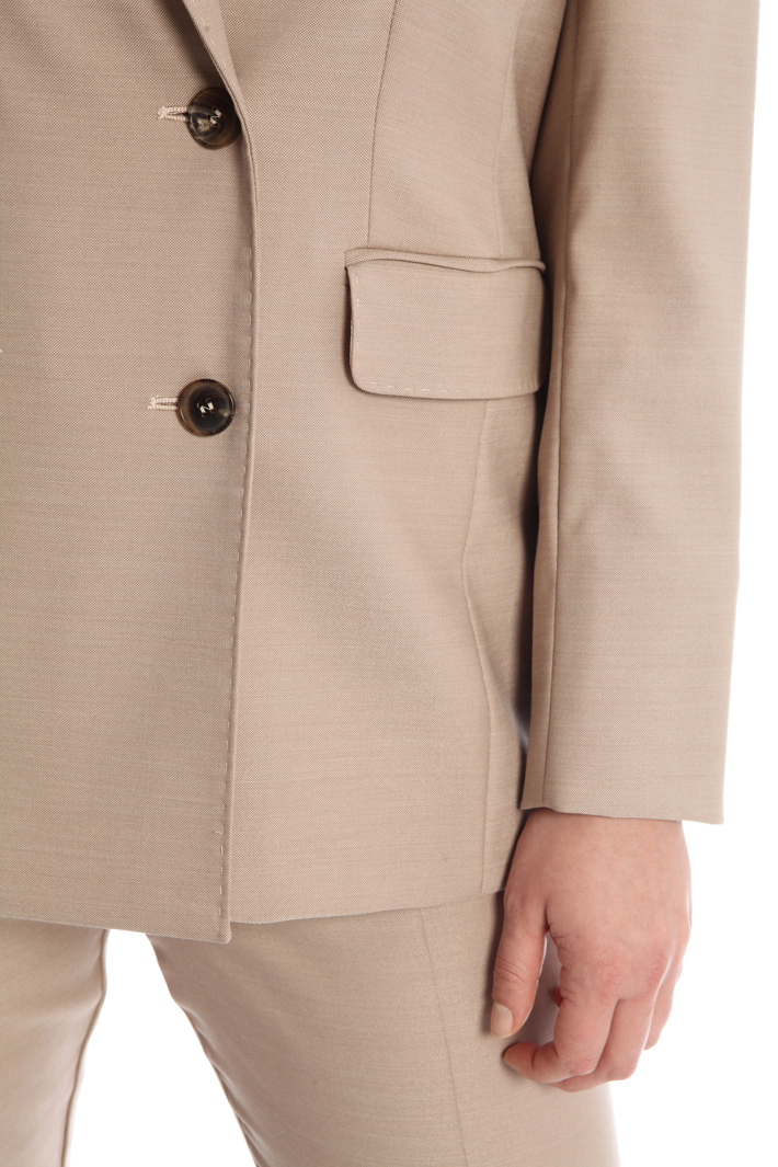 Wool and silk jacket Intrend