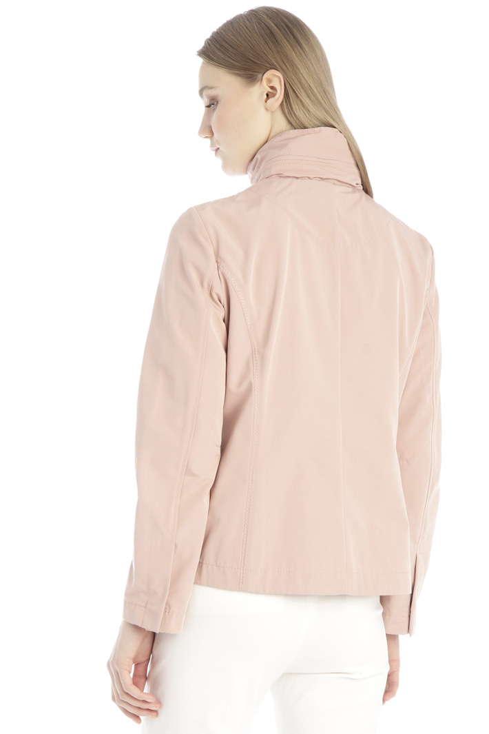 Slim fit faille jacket Intrend