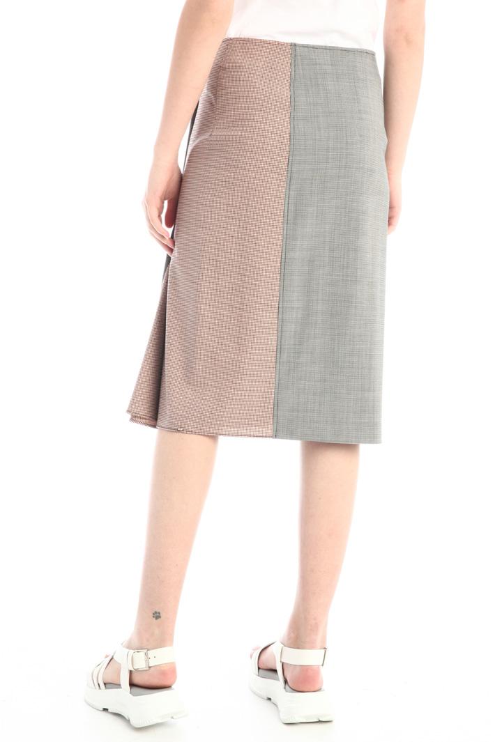 Wool canvas skirt Intrend