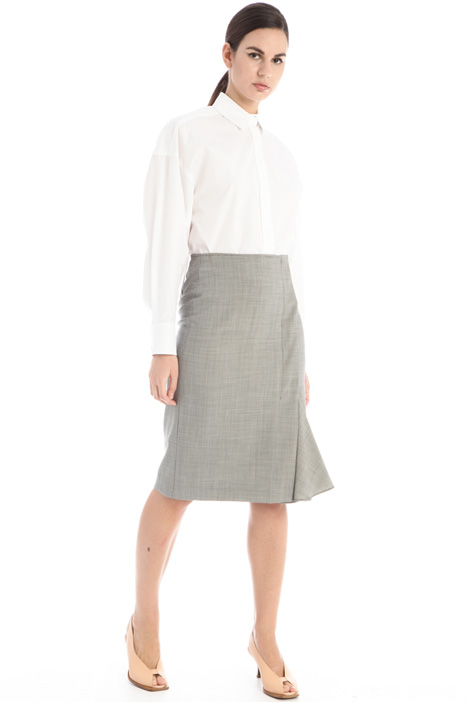 Wool canvas skirt Intrend