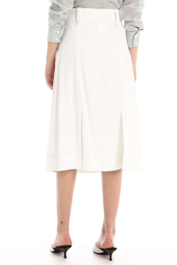 Double satin skirt Intrend