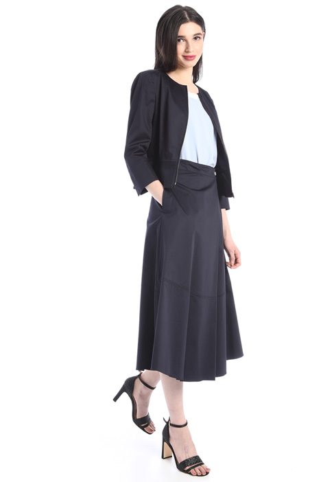 Wrap-up midi skirt Intrend
