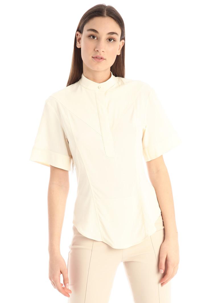 Slim fit crepe shirt Intrend