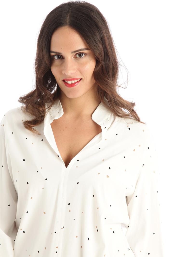 Viscose poplin blouse Intrend