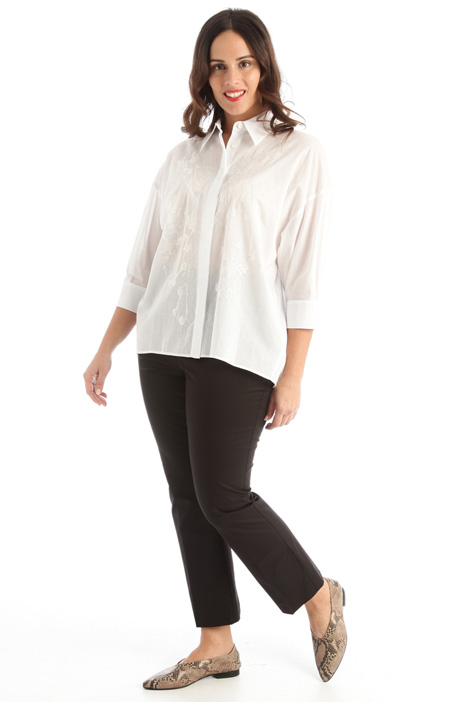 Embroidered muslin shirt  Intrend