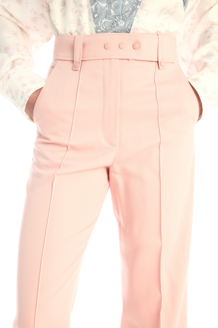 Centre pleat trousers Intrend