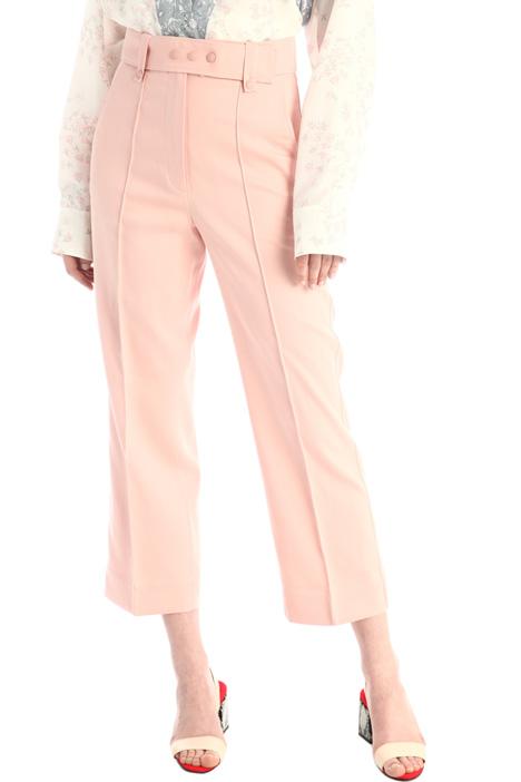 Pantaloni con piega cucita Intrend
