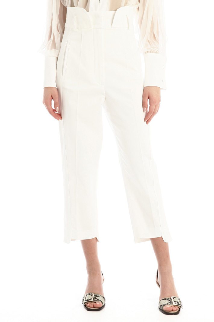 Basque detailed trousers Intrend