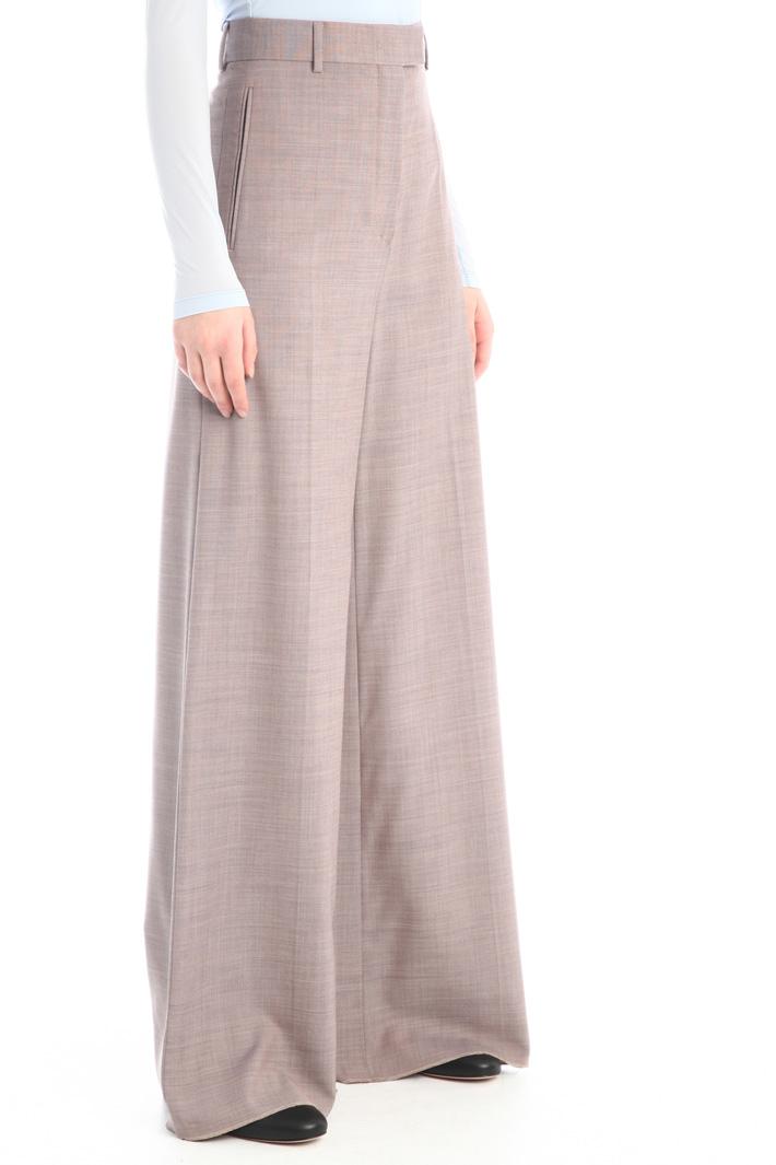 Wide-leg wool trousers Intrend