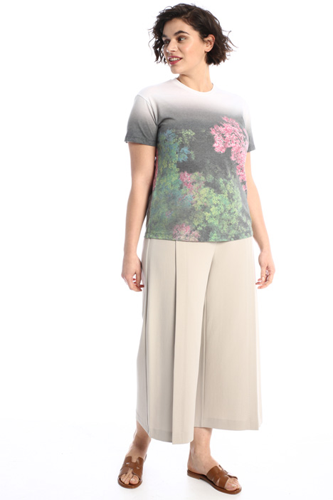 Cotton blend trousers Intrend