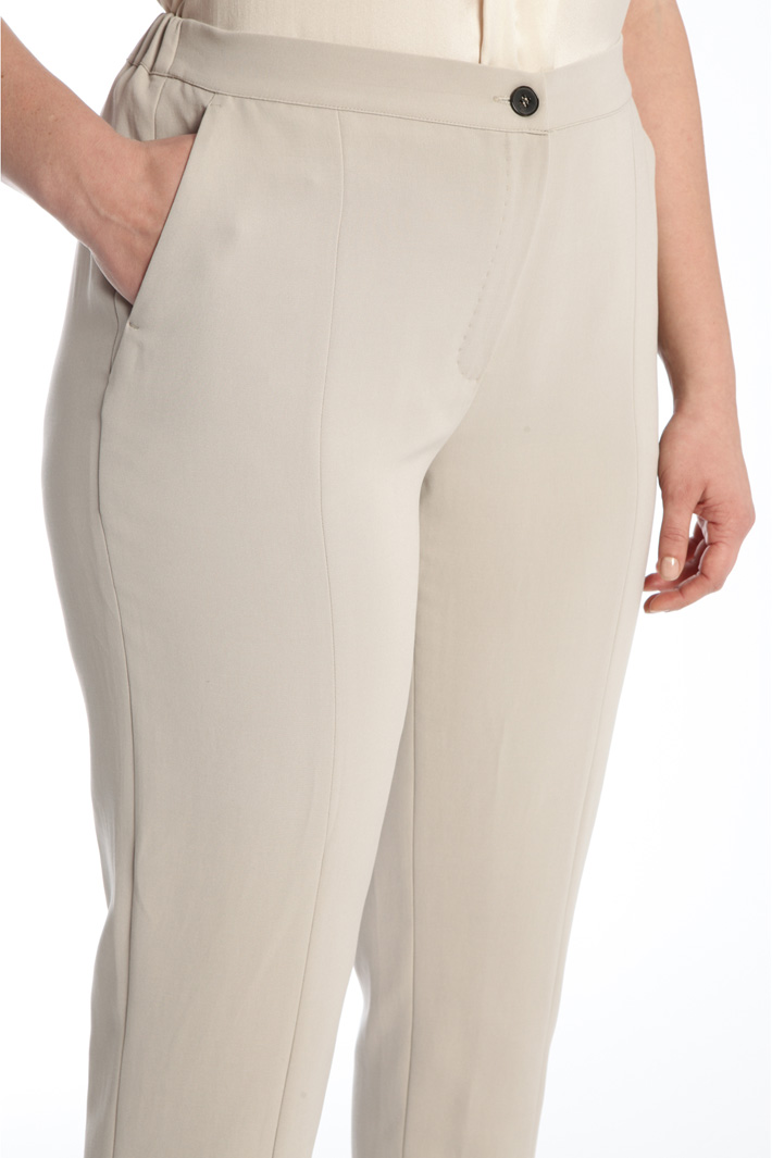Slit detailed trousers Intrend