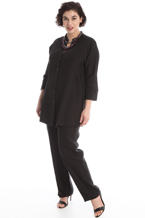 Drawstring linen trousers Intrend