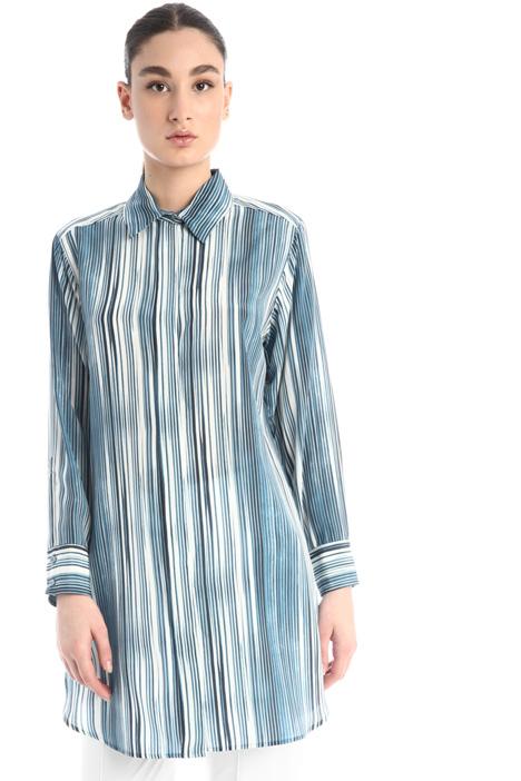 Silk crepe tunic Intrend