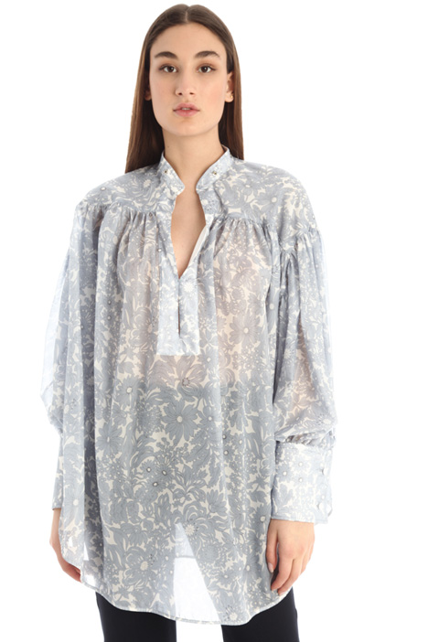 Printed chiffon blouse Intrend