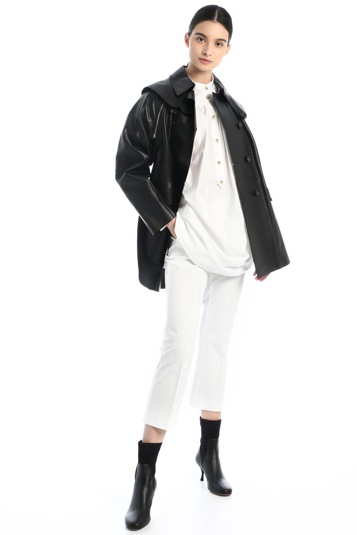 Cotton poplin tunic Intrend