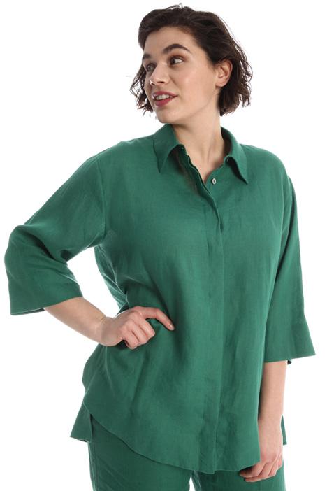 Loose linen shirt Intrend