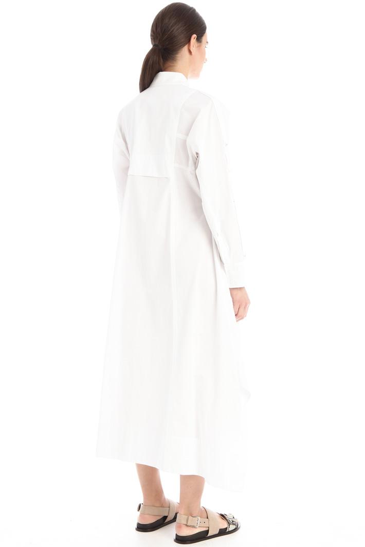 Poplin chemisier dress Intrend
