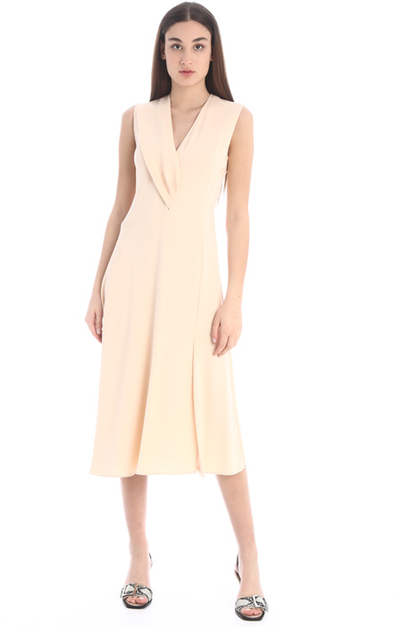 Draped cady dress Intrend