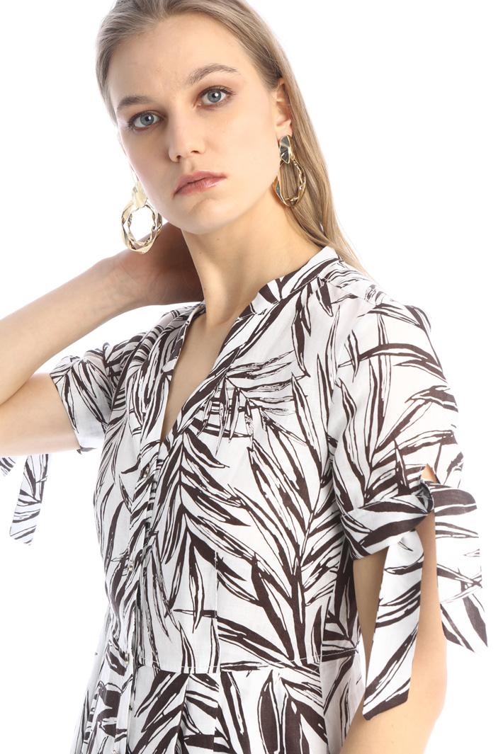 Flared linen dress Intrend