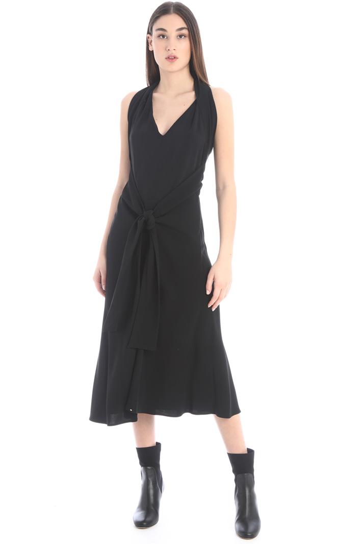 Halter neck dress Intrend