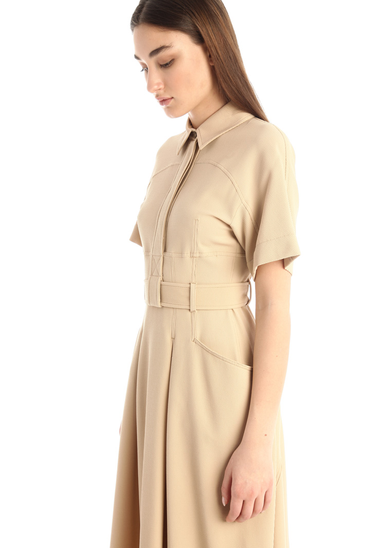 Pleated chemisier dress Intrend