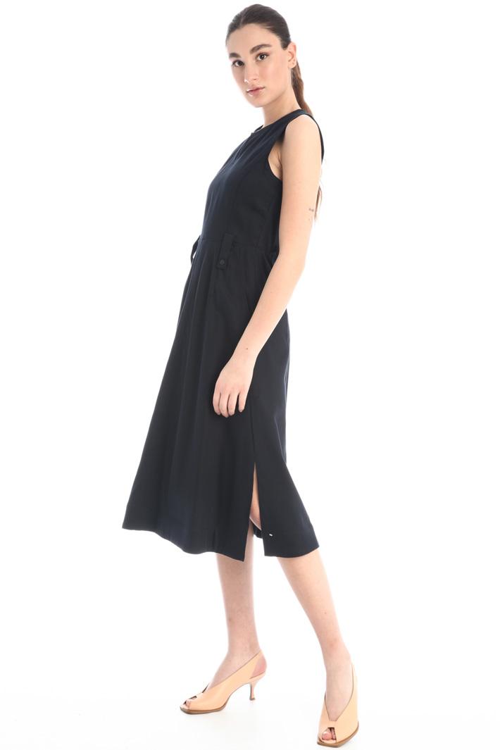 Double cotton satin dress Intrend