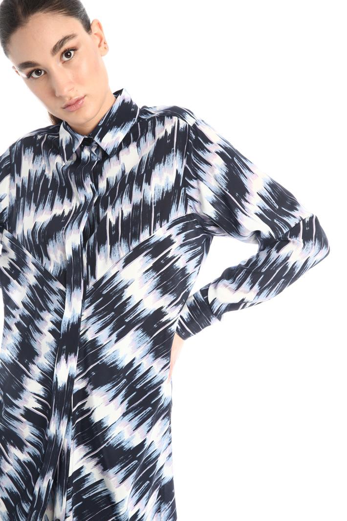 Silk chemisier dress Intrend