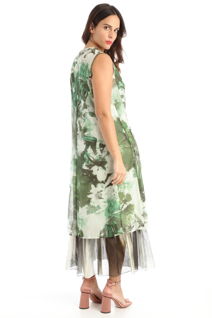 Silk and cotton dress  Intrend