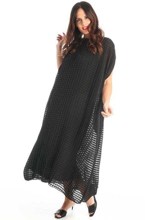 Pleated kimono sleeve dress Intrend