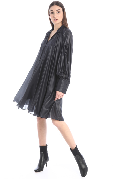 Tech chiffon dress Intrend