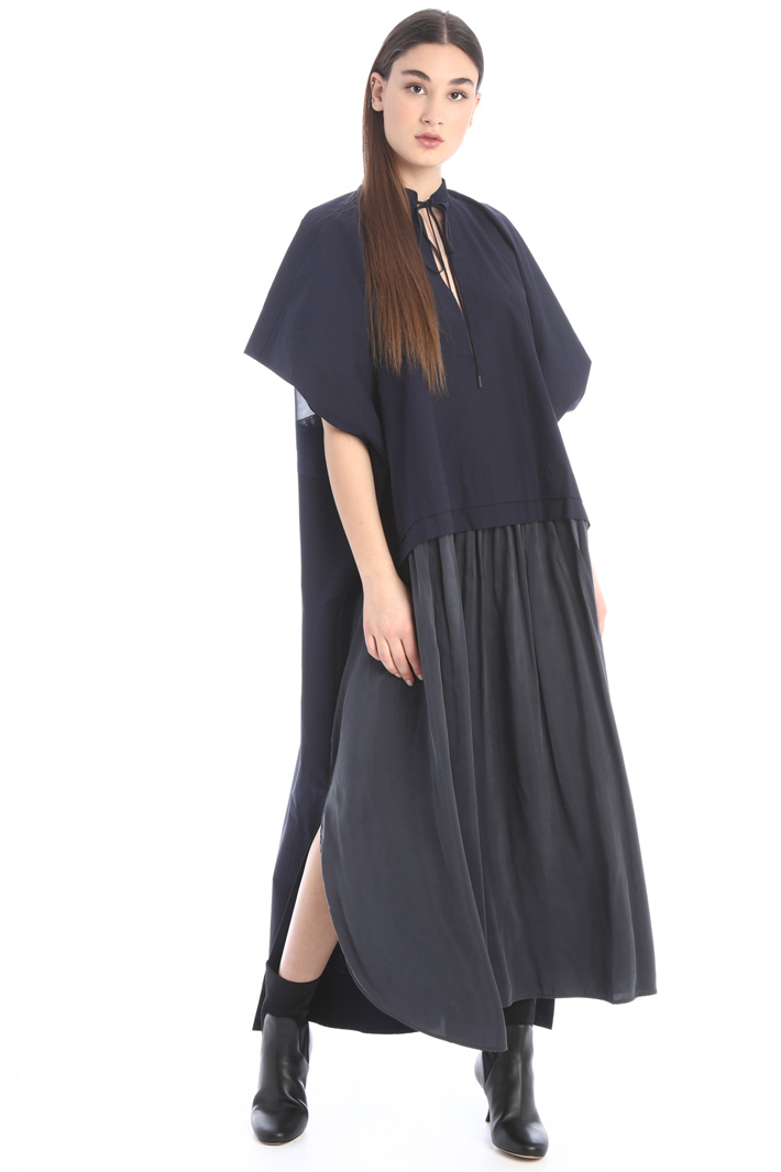 Cotton and silk dress Intrend