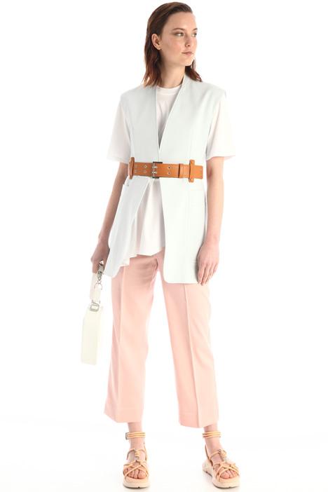 Double cotton canvas vest Intrend