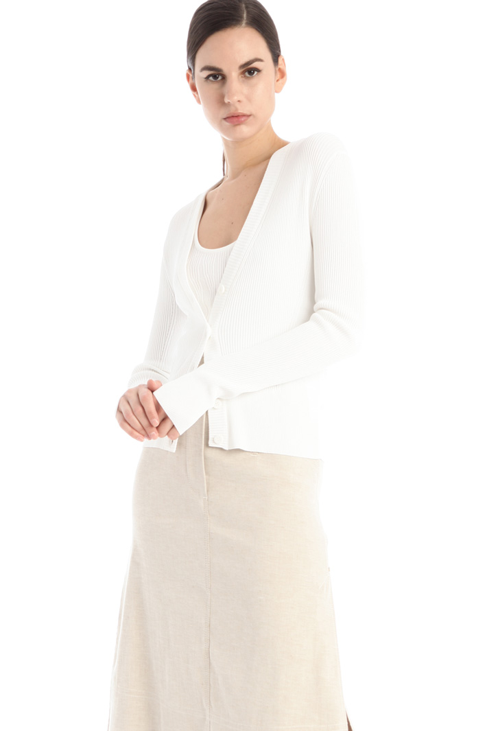 Ribbed cardigan Intrend