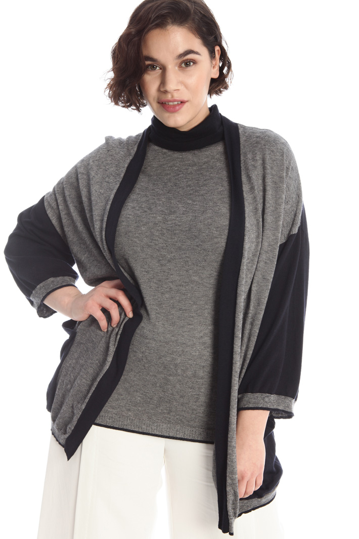 Wool and viscose cardigan Intrend