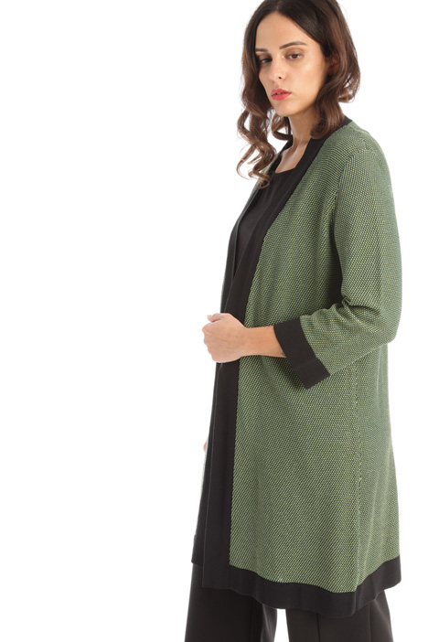 Loose open front cardigan Intrend