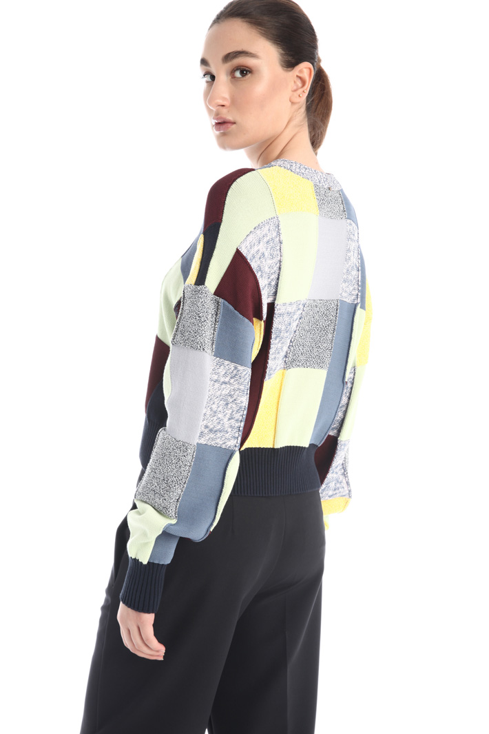 Patchwork sweater Intrend