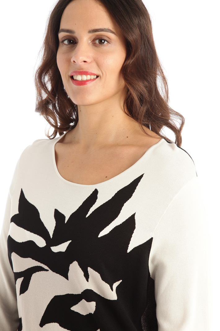 Long viscose sweater Intrend