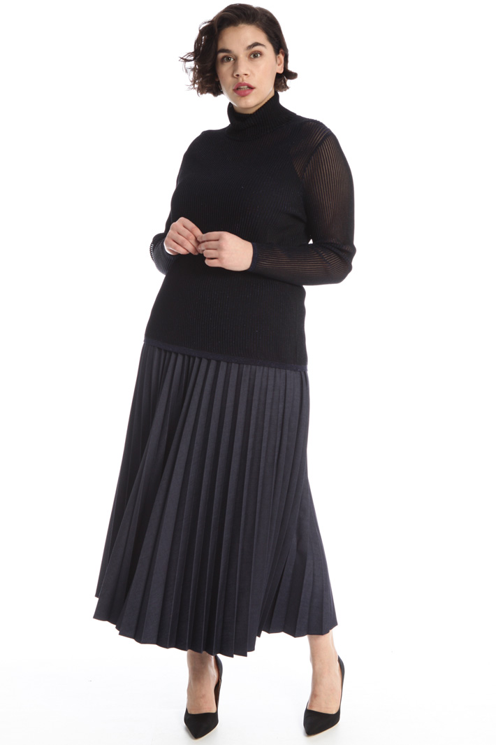 Lurex ribbed sweater Intrend