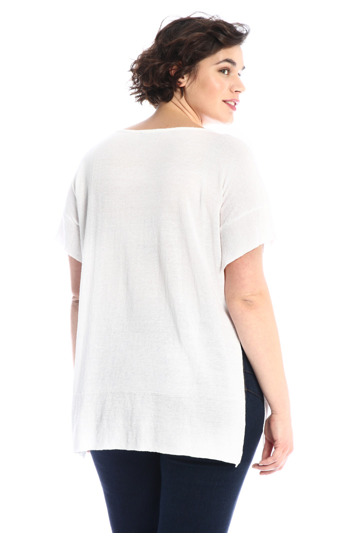 Linen and viscose sweater Intrend