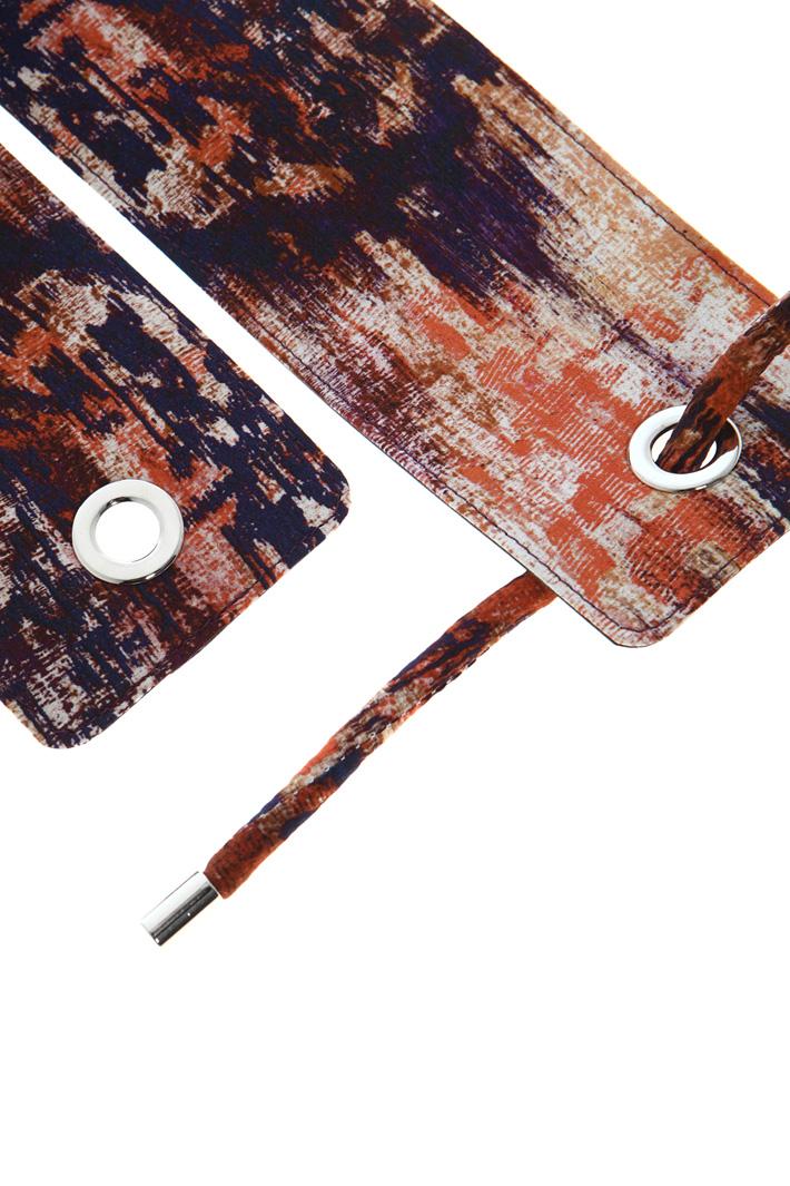 Silk covered belt Intrend
